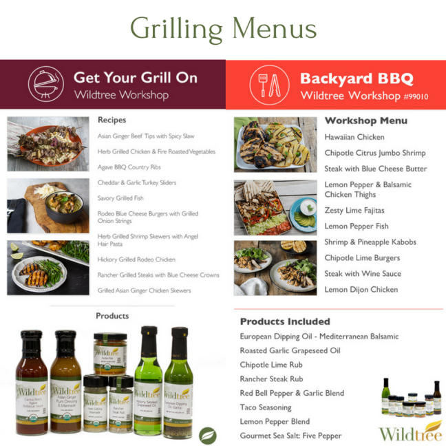 grilling-menu-options