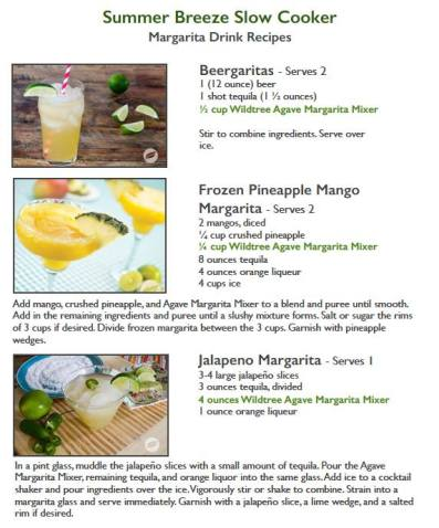 Margarta suggestions for left over